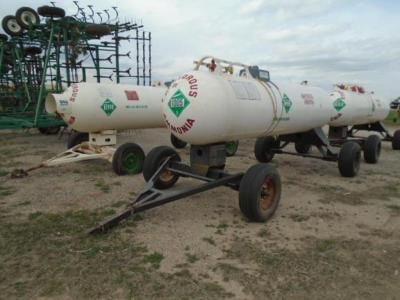 Pair of Anhydrous Tanks
