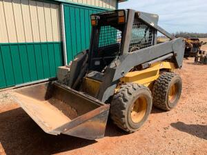 New Holland LS180 Skid Loader