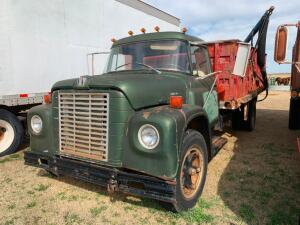 "1967 International wheat truck, 15ft bed, 40"" sides, steel floor, plumbed for fill auger"