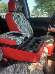 Custom GMC/Chevy Camo Seat Covers - 2016 & Like Years