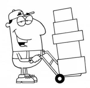 BRING BOXES AND HELP! - We will not have staff or boxes available to help you load even small items.