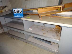Large Prep Counter Shelves