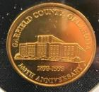 Garfield County OK 100th Anniversary Medallion