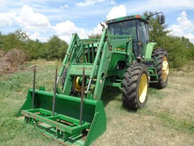 John Deere 7710 w/ 740 Joystick Loader Key Specifications: Drive: MFWD HP: 130 HP Hours: 8188 Detailed Specifications: Tractor Stock #: 68469 Tractor